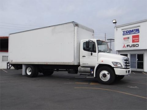 Pre Owned 2016 Hino 268 Commercial Truck In Santa Fe Springs